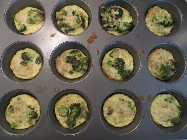 broccoli rice cups