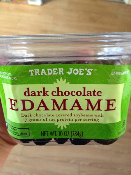 chocolate edamame