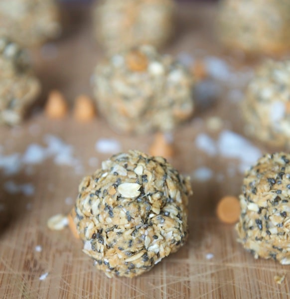 No Bake Butterscotch Coconut Balls