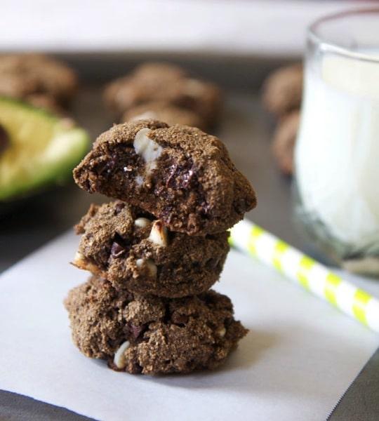 Ooey Gooey Avocado Cookie