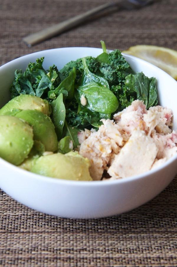 Tuna Salad-The Almond Eater