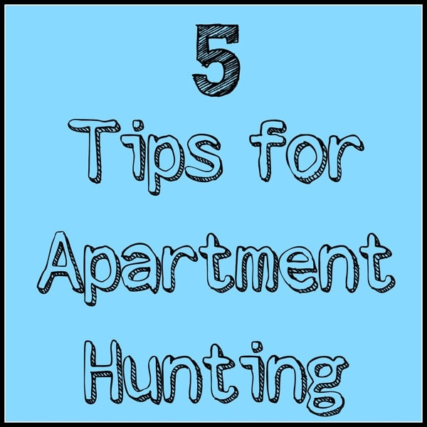 5 Tips For Apartment Hunting-The Almond Eater