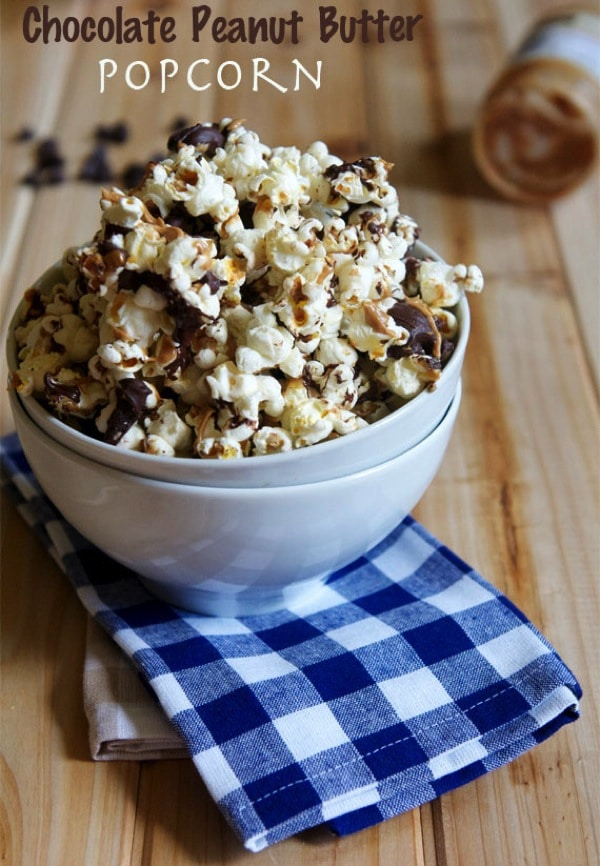 Chocolate Peanut Butter Popcorn The Almond Eater