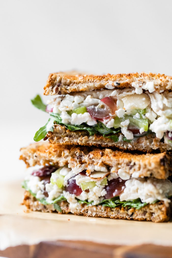 Cottage Cheese Chicken Salad Sandwich The Almond Eater