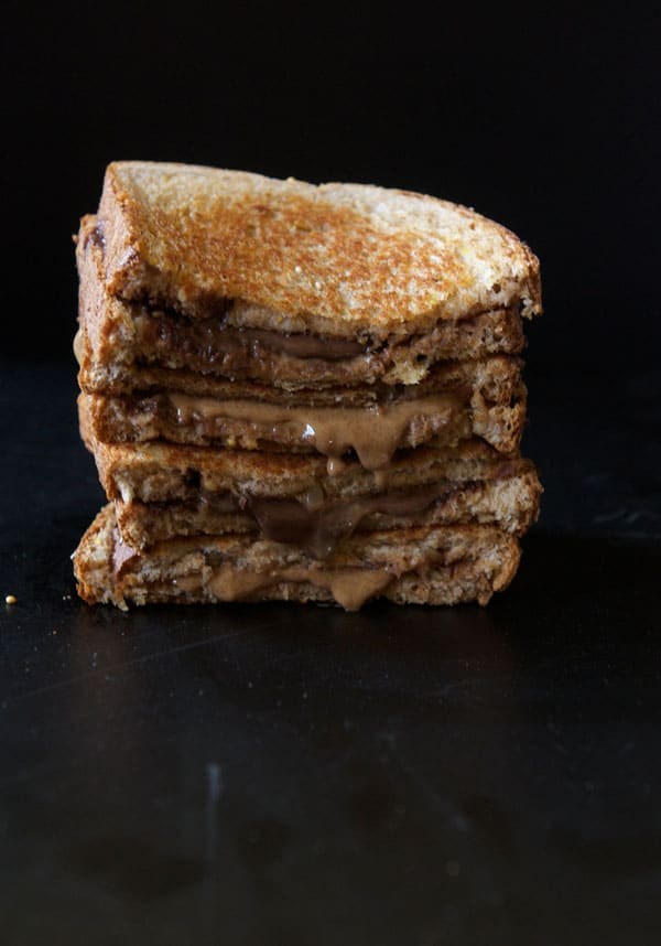 Grilled Almond Butter Sandwich