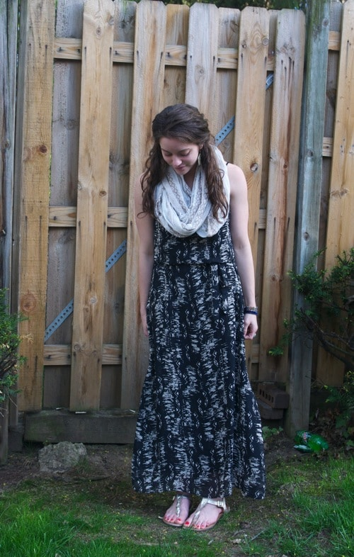 Maxi Dress-The Almond Eater