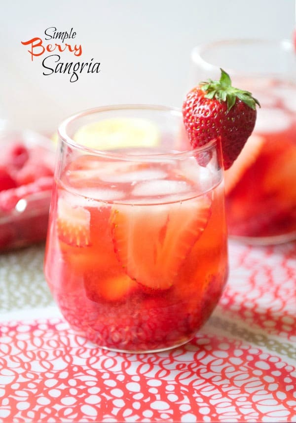 Simple Berry Sangria