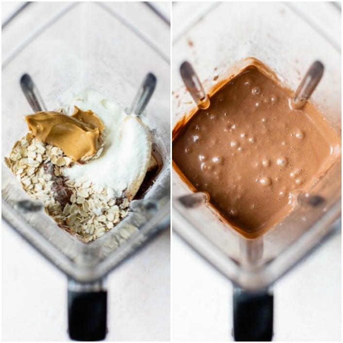 smoothie in a blender