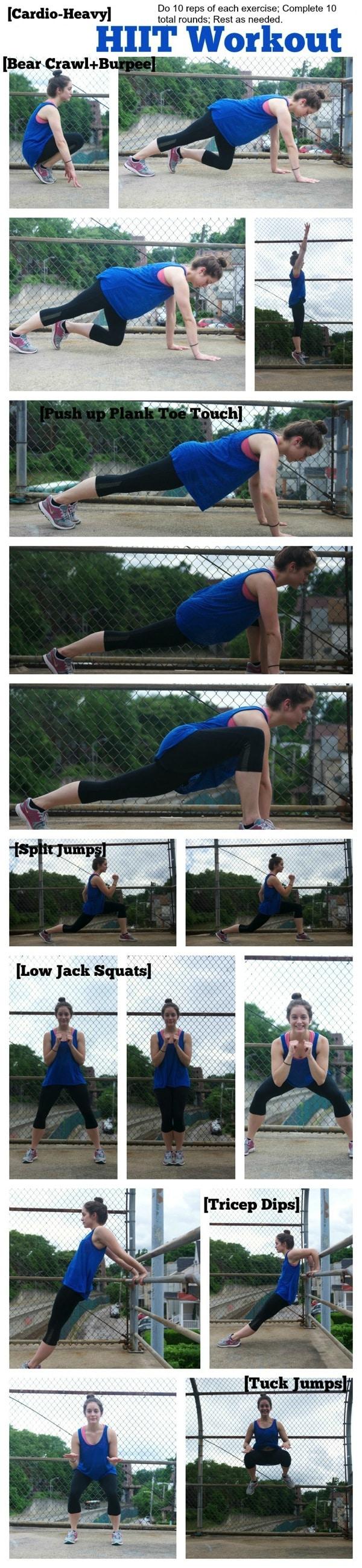 Cardio-Heavy HIIT Workout