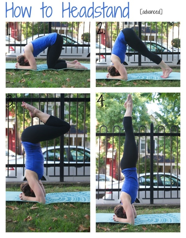 How to Headstand advanced
