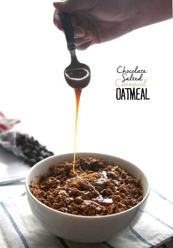 Salted Caramel Oatmeal