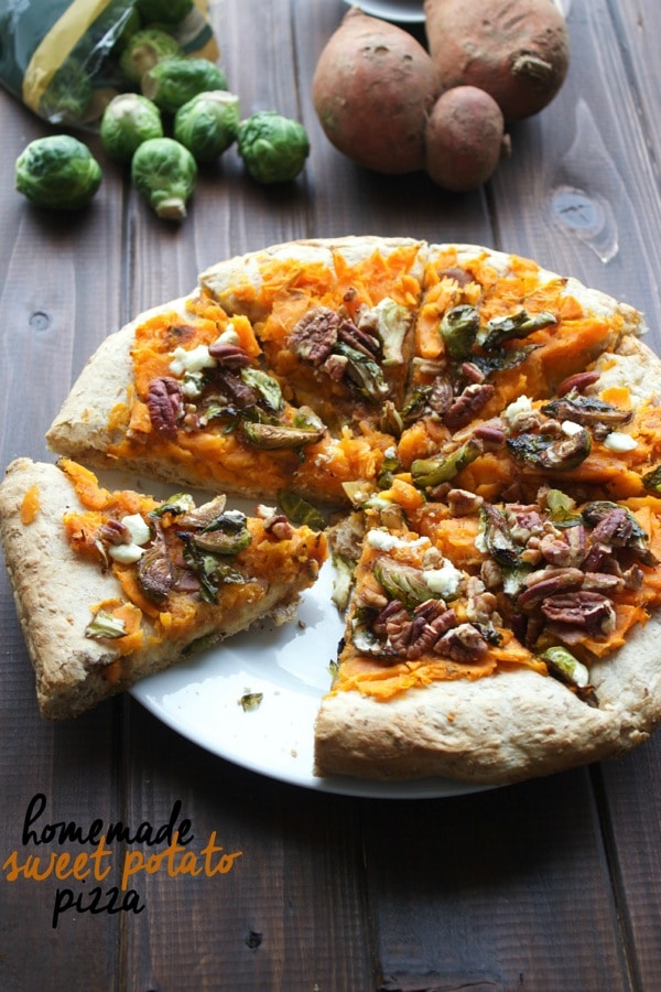 Homemade Sweet Potato Pizza1