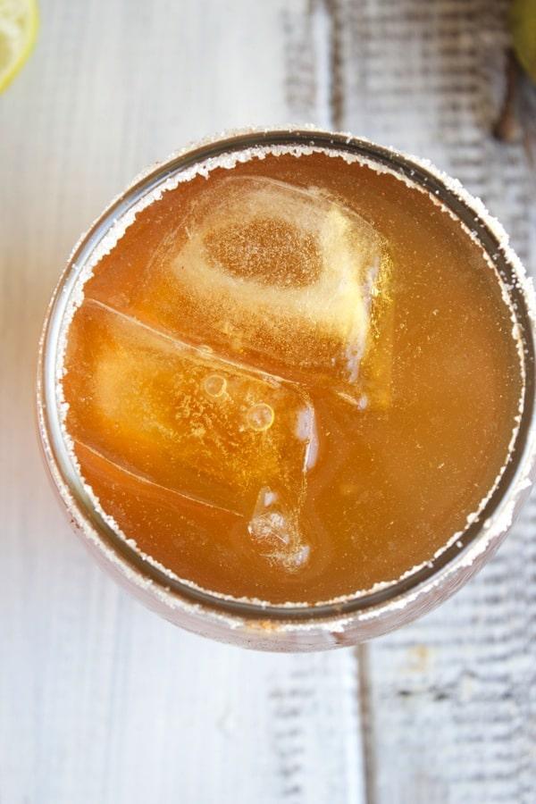 Spiced Pear Cocktail