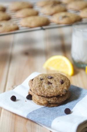 Chocolate Orange Cookies 4