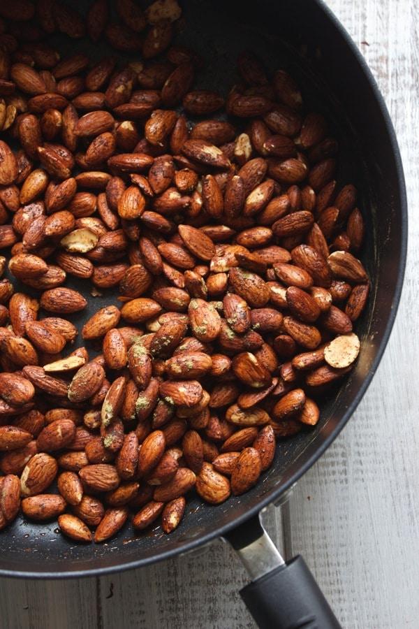 Cinnamon  Sage Almonds 4