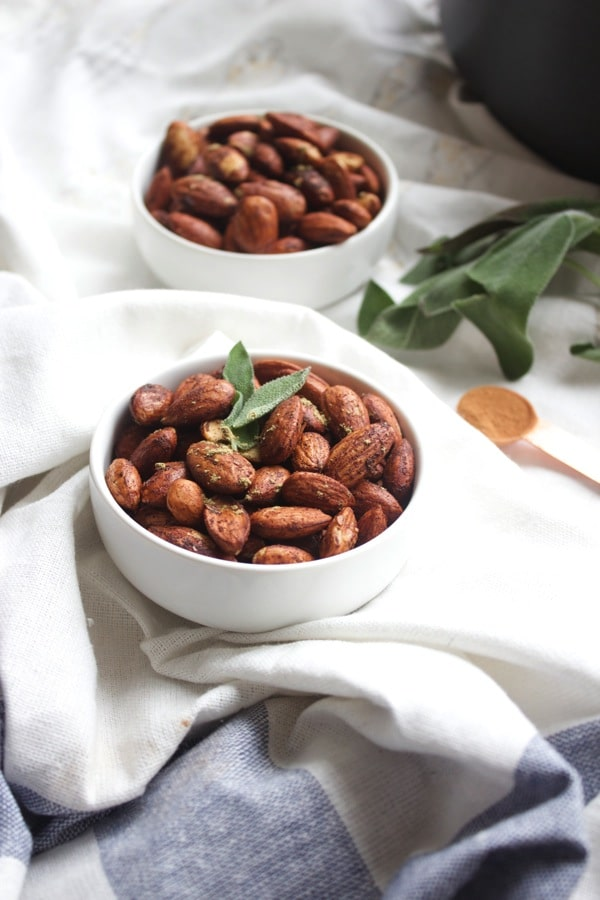 Cinnamon  Sage Almonds 8