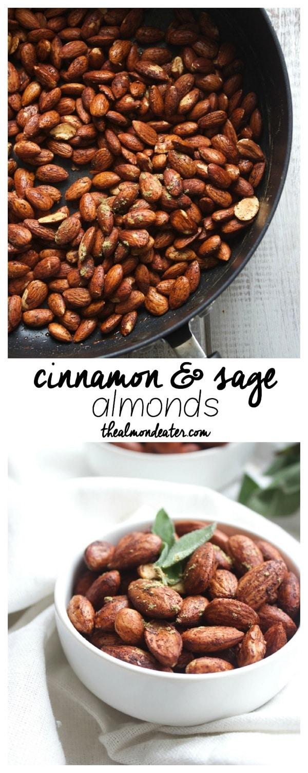 Cinnamon and Sage Almonds 123