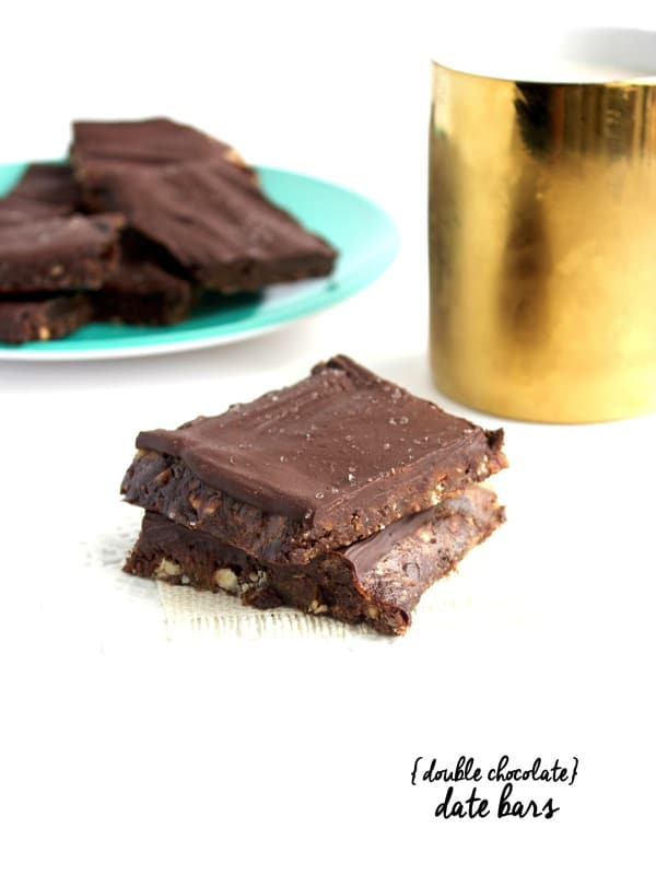 Double Chocolate Date Bars 41
