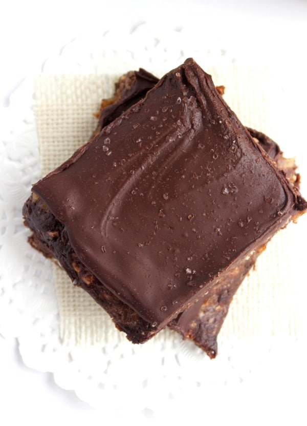 Double Chocolate Date Bars 5