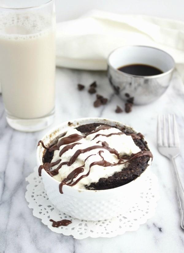 Paleo Mocha Mug Cake