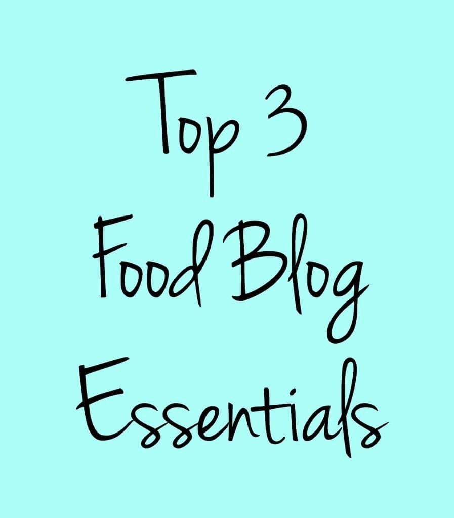 food blog essentials