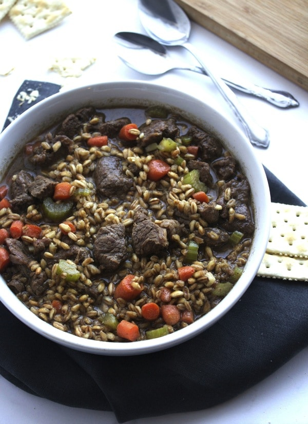 Homemade Beef Barley Soup 7edited