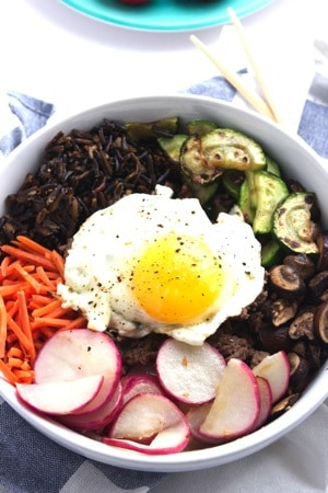 Korean Bibimbap 1