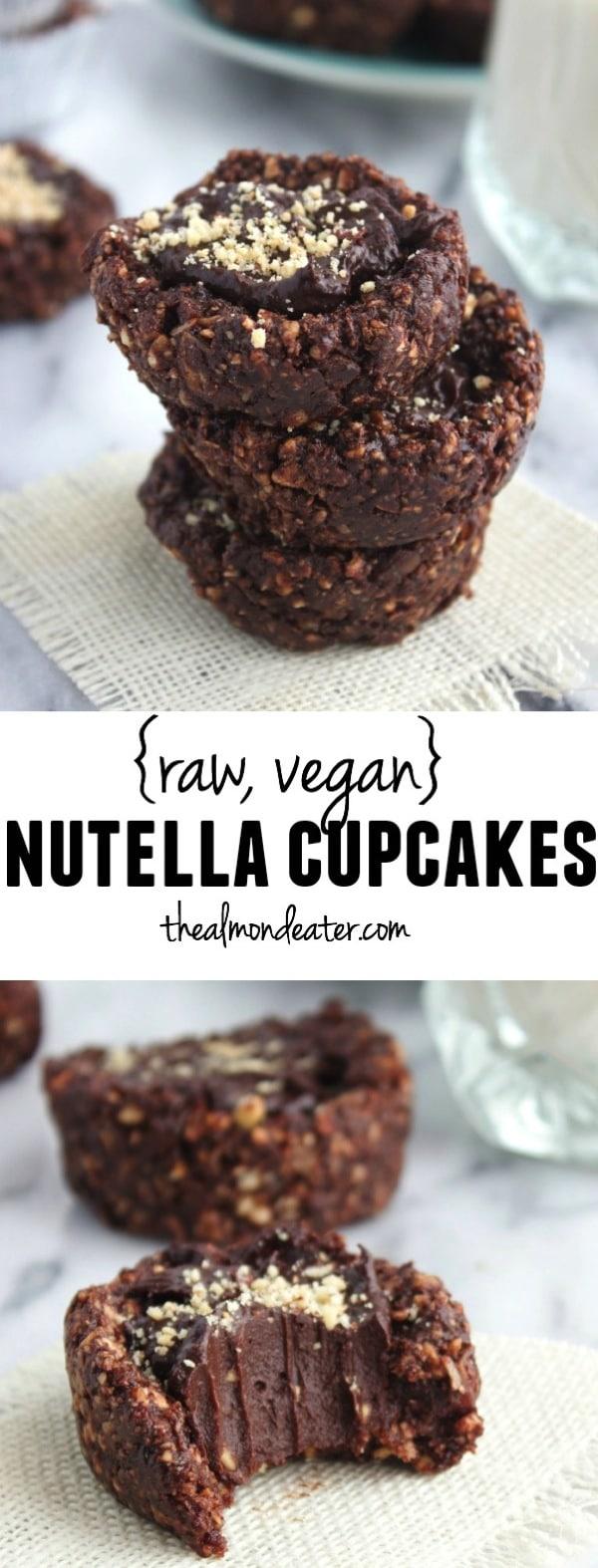 Raw Vegan Nutella Cupcakes 123