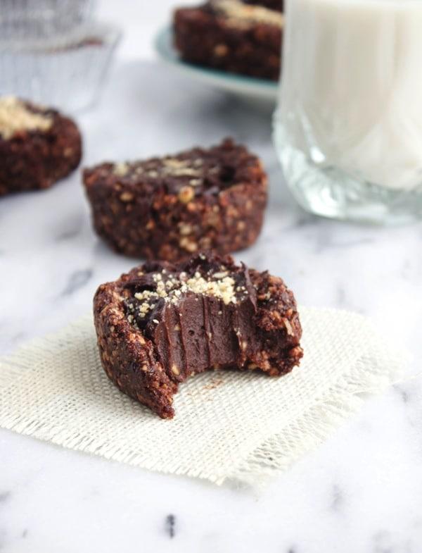 Raw Vegan Nutella Cupcakes 9