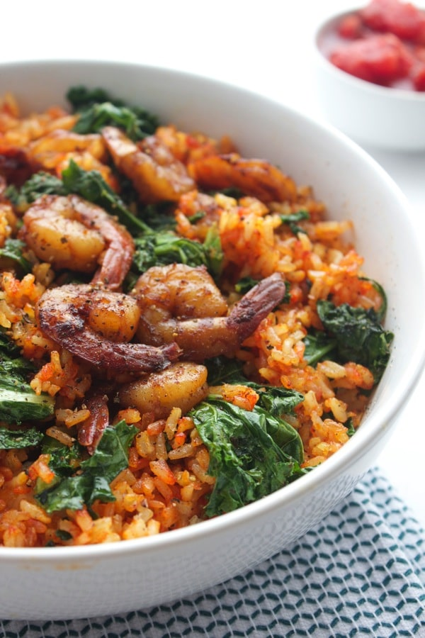 Spicy Spanish Rice with Shrimp 3