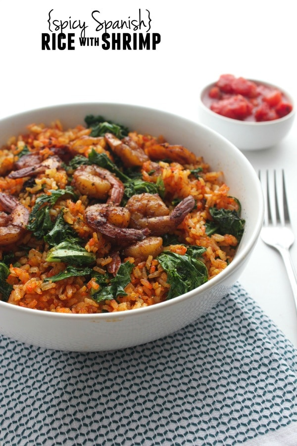 Spicy Spanish Rice with Shrimp 612