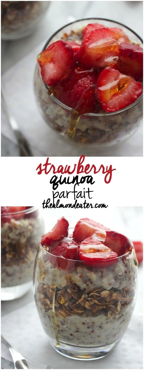Strawberry Quinoa Parfait 123