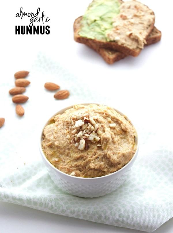 Almond Garlic Hummus 91