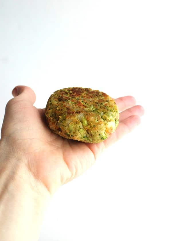 Broccoli Potato Burgers 5