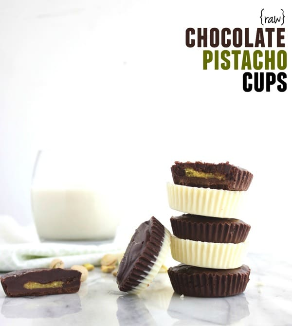 Raw Chocolate Pistachio Cups 61
