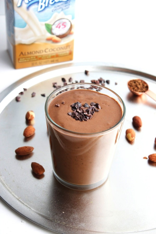 Almond Mocha Smoothie 1