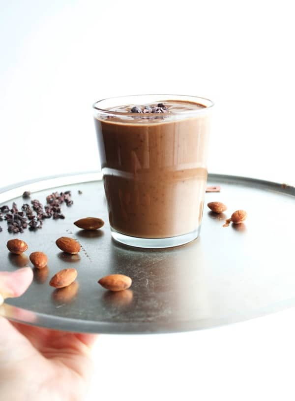 Almond Mocha Smoothie 4