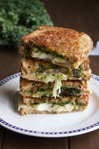 Chicken Pesto Grilled Cheese 1