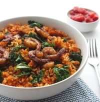 Spicy Spanish Rice with Shrimp 6