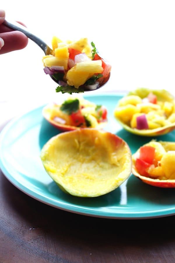 The BEST Mango Salsa 2