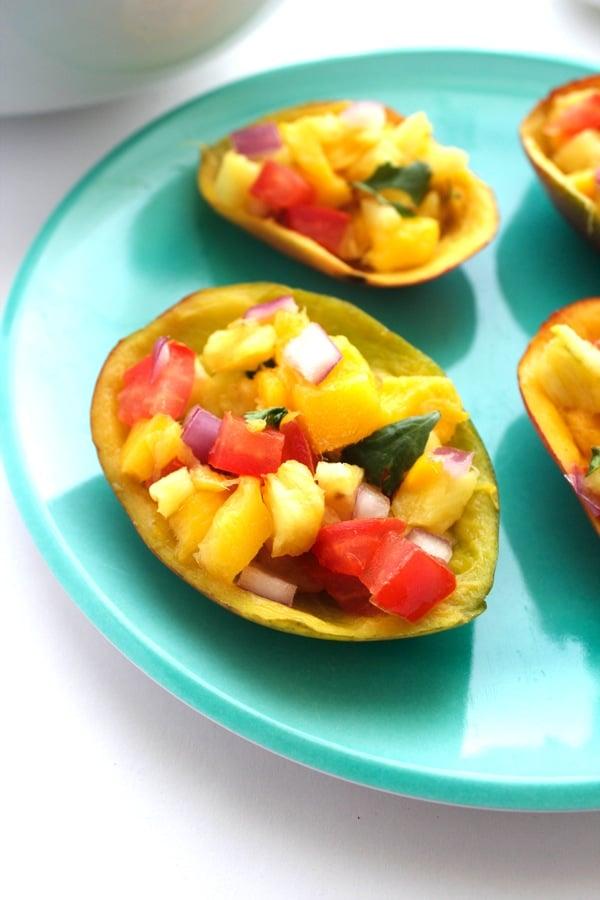 The BEST Mango Salsa 4