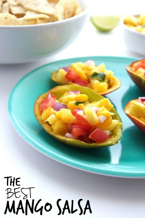 The BEST Mango Salsa 81