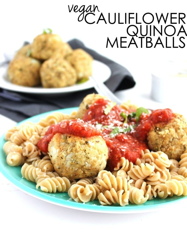Vegan Cauliflower Quinoa Meatballs 61