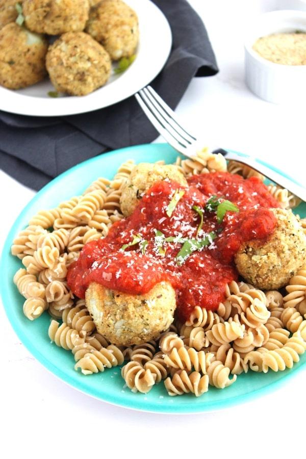 Vegan Cauliflower Quinoa Meatballs 7