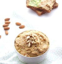 Almond Garlic Hummus 9