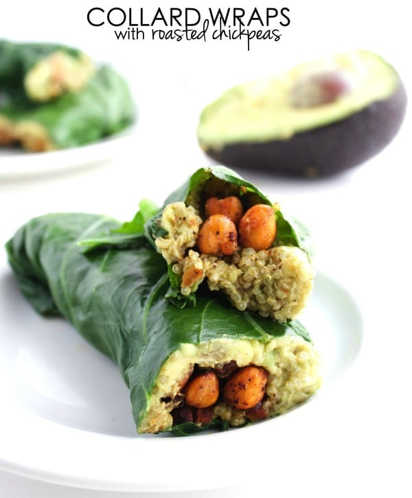 Collard Wraps with Roasted Chickpeas 31