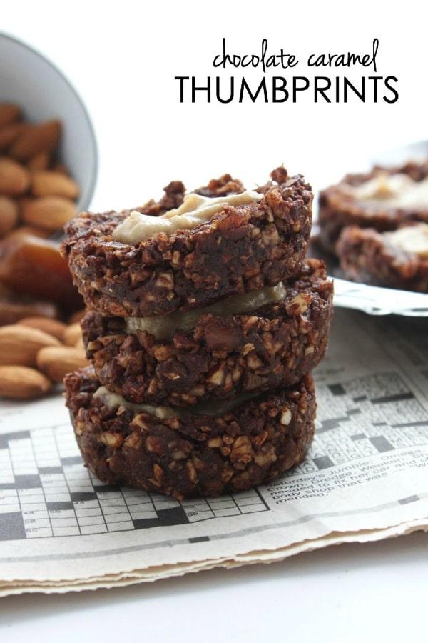 Chocolate Caramel Thumbprints Recipes — Dishmaps