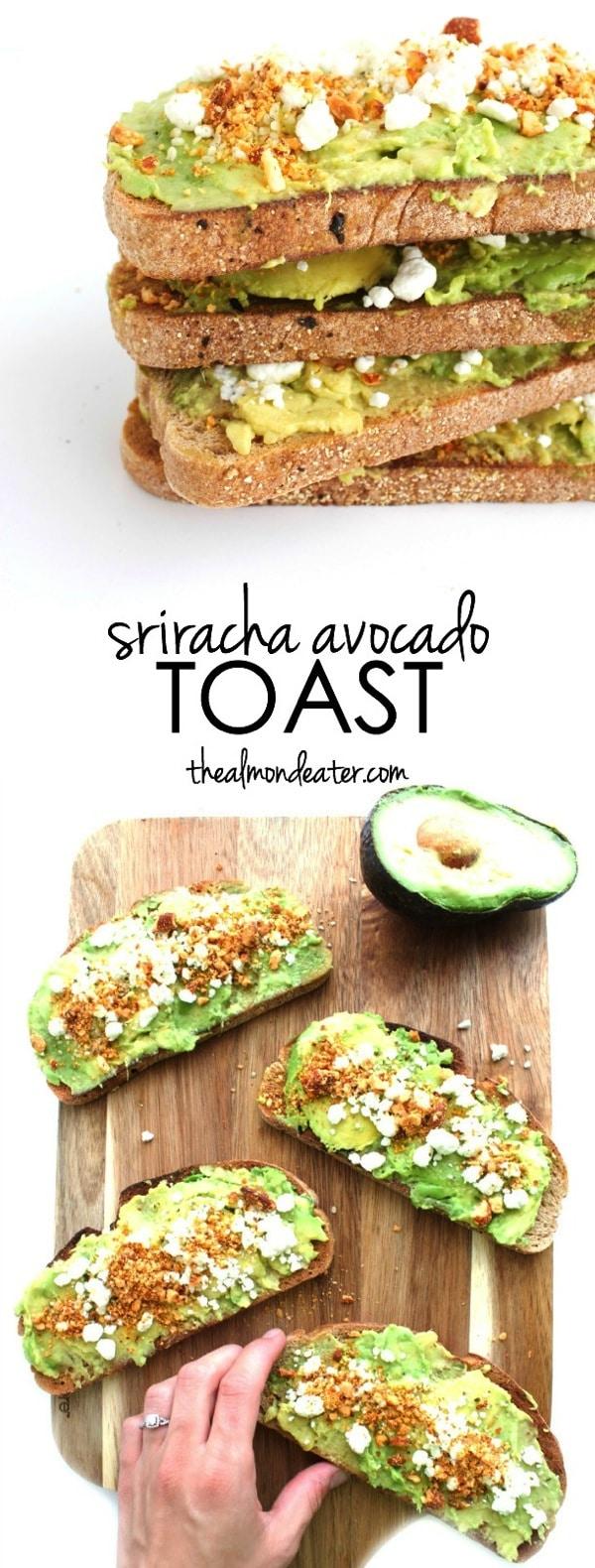 Sriracha Avocado Toast 123