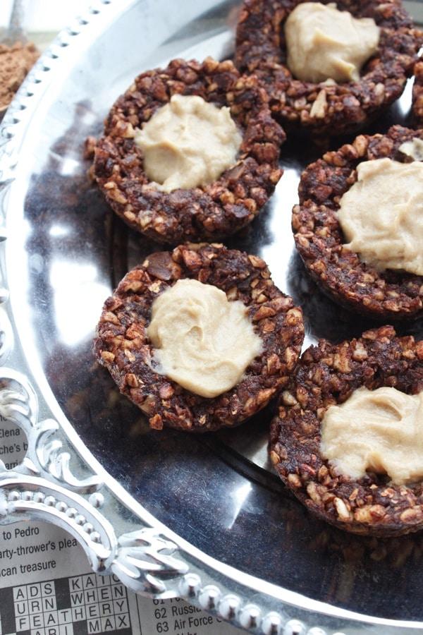 Vegan Chocolate Caramel Thumbprints 2