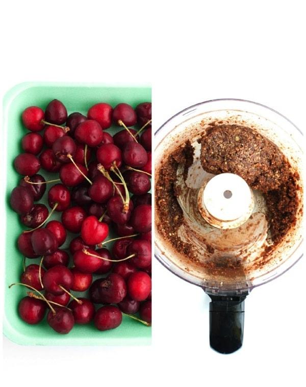 Vegan Chocolate Cherry Granola Bars 7